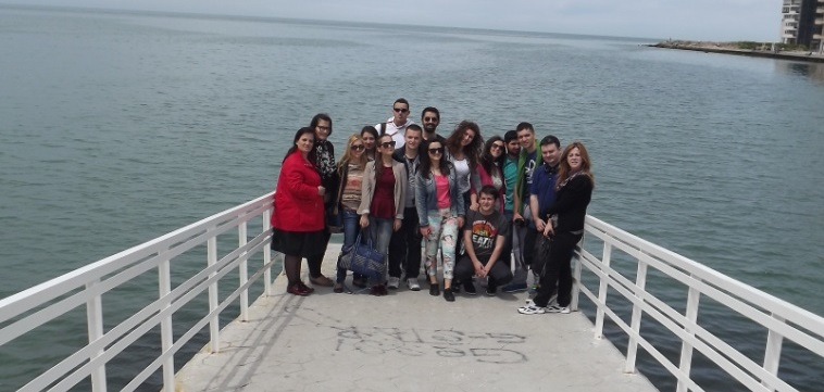 The group in Durres